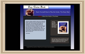 Easy Guitar Book web site